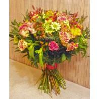 Букет «Весенние розы»