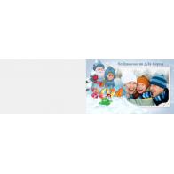 Детский альбом с Новым годом «Поздравление от Деда Мороза»