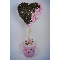 Композиция «Кофейное сердце»