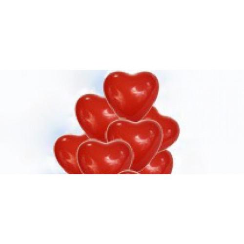 Главная воздушные шары 11 сердец