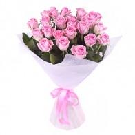 Букет из 29 розовых роз