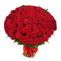 Розы на похороны 100 роз
