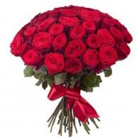 Розы на похороны 50 роз