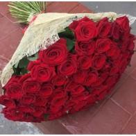 101 роза в сезале 70 см