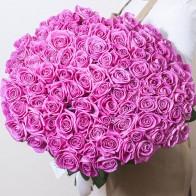 Букет розовых роз спб
