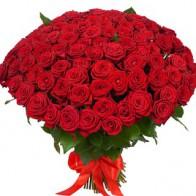 Роза на похороны 70 роз