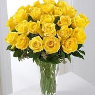 Букет желтых роз 29 шт.