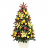 Елка цветочная «Зимняя красавица»