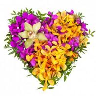 Композиция «Сердце тропиков»