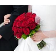 Букет невесты из роз СПБ