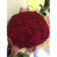 201 бордовая роза в Санкт-Петербурге