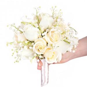 Букет невесты «Весенние ландыши»