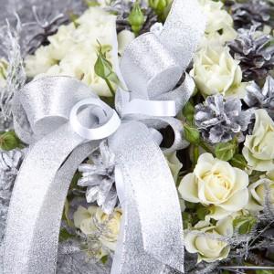 Букет роз «Льдинка»