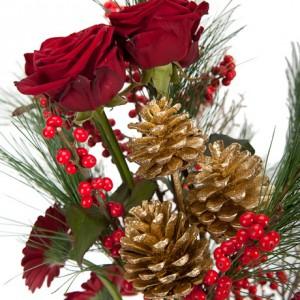 Букет цветов «Красная горка»