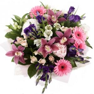 Букет «Игра цветов»