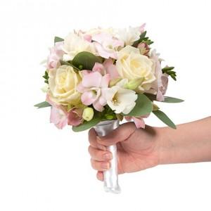 Букет невесты «Кремовый десерт»