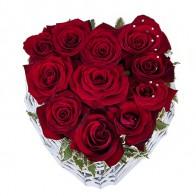 Композиция сердце «Кораблик любви»