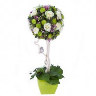 Композиция «Цветочное дерево»
