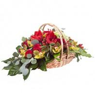 Корзинка цветов «Благодарю»