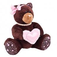 Медвежонок с сердцем (девочка)