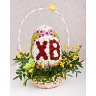 Композиция из цветов «Пасхальное яйцо»