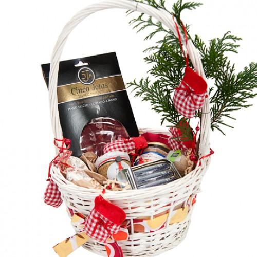 Доставка корзины с продуктами в подарок 88
