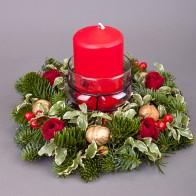 Веночек рождественский «Огонек»