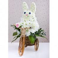 Фигура «Зайчонок на велосипеде»