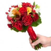 Букет невесты «Ягодные поцелуи»