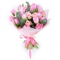 Букет «Розовый зефир»