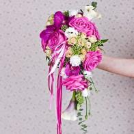 Букет невесты Гламур