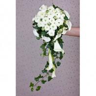 Букет невесты из ранункулусов