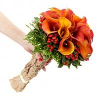 Букет невесты «Яркое чувство»