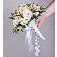 Букет невесты Кремовый