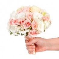 Букет невесты «Нежные розы»
