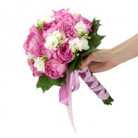 Букет невесты «Розовая сказка»