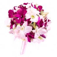 Букет невесты «Розовые орхидеи»