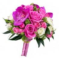 Букет невесты «Цветные тропики»