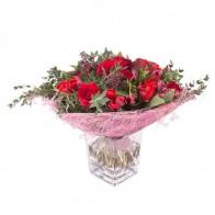 Букет с розами «Говард Хьюз»