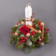 Композиция «Белые свечи»
