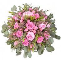 Букет «Гранд букет» с розовыми розами