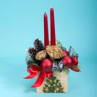 Композиция «Новогодние свечи»