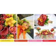 Свадебное оформление «Осенние яблоки»