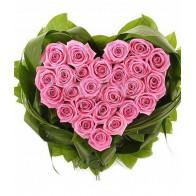 Сердце «25 роз»